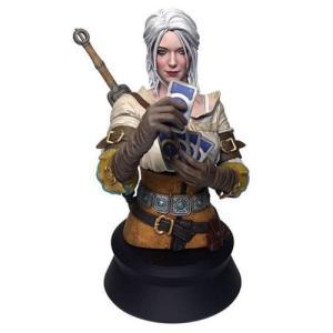 ウィッチャー Witcher グッズ The 3: Wild Hunt Ciri Playing Gwent Bust|fermart-hobby