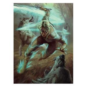ウィッチャー Witcher ゲーム・パズル The 3 Wild Hunt Ciri and the Wolves Puzzle|fermart-hobby