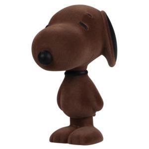スヌーピー ピーナッツ ダークホース Dark Horse Peanuts Snoopy Flocked Cinnamon 5 1/2-Inch Vinyl Figure|fermart-hobby