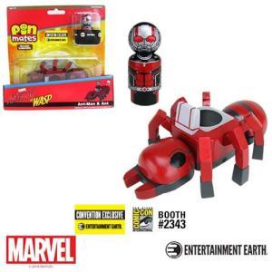 アントマン Ant-Man グッズ with Ant Pin Mates Wooden Collectibles Set - Convention Exclusive|fermart-hobby