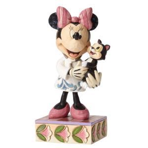 ミッキーマウス Mickey Mouse 彫像・スタチュー Disney Traditions Minnie Mouse Tender Love and Care Statue fermart-hobby