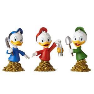 わんぱくダック夢冒険 Ducktales グッズ DuckTales Huey Dewey and Louie Grand Jester Mini-Bust|fermart-hobby