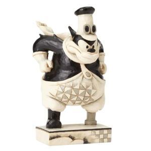 ミッキーマウス Mickey Mouse 彫像・スタチュー Disney Traditions Peg Leg Pete Get a Horse Black Hearted Bully Statue fermart-hobby