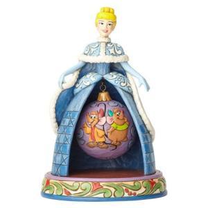 シンデレラ Cinderella 彫像・スタチュー Disney Traditions Christmas Tidings of Friendship Statue|fermart-hobby