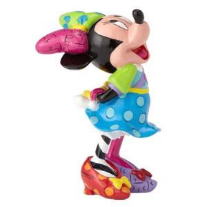 ミッキーマウス Mickey Mouse 彫像・スタチュー Disney Minnie Mouse Mini-Statue by Romero Britto fermart-hobby