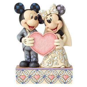 ミッキーマウス Mickey Mouse 彫像・スタチュー Disney Traditions Wedding Two Souls, One Heart Mickey and Minnie Mouse Statue fermart-hobby