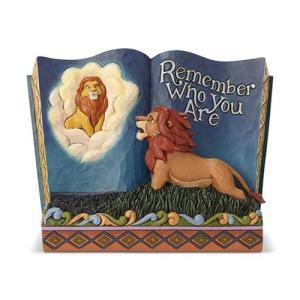 ライオン キング Lion King 彫像・スタチュー Disney Traditions The Remember Who You Are Storybook Statue by Jim Shore|fermart-hobby