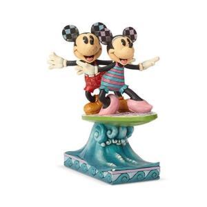 ミッキーマウス Mickey Mouse 彫像・スタチュー Disney Traditions Minnie Mouse and Surfboard Surf's Up Statue by Jim Shore fermart-hobby