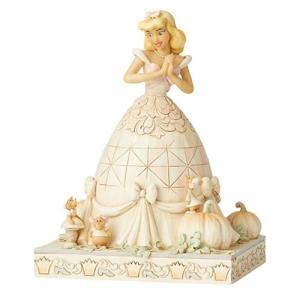 シンデレラ Cinderella 彫像・スタチュー Disney Traditions White Woodland Darling Dreamer by Jim Shore Statue|fermart-hobby