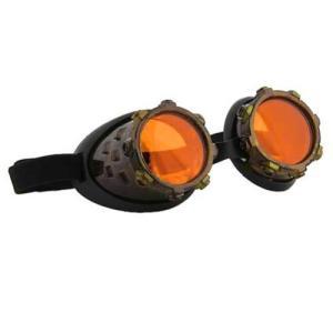 スチームパンク エロープ Elope Steampunk CyberSteam Gold/Orange Goggles|fermart-hobby