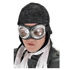 スチームパンク エロープ Elope Steampunk Black Aviator Hat|fermart-hobby
