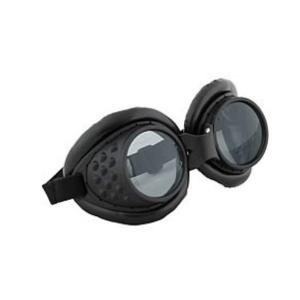 スチームパンク エロープ Elope Steampunk Radioactive Black Aviator Goggles|fermart-hobby