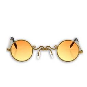 スチームパンク エロープ Elope Steampunk Gold/Orange Pot O' Gold Glasses|fermart-hobby
