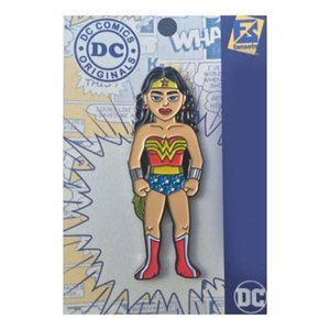 ワンダーウーマン Wonder Woman グッズ Classic Pin red/blue|fermart-hobby