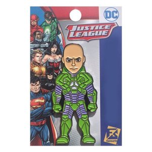 スーパーマン Superman グッズ Lex Luther Battle Armor The New 52 Pin green/purple|fermart-hobby