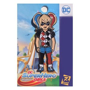ハーレー クイン Harley Quinn グッズ DC Superhero Girls Pin blue/red/white|fermart-hobby