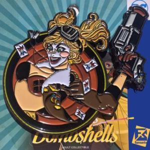 ハーレー クイン Harley Quinn グッズ DC Bombshells Badge Pin|fermart-hobby