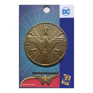 ワンダーウーマン Wonder Woman グッズ Movie Logo Shield Pin|fermart-hobby