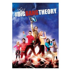 ビッグバン セオリー Big Bang Theory グッズ The Group MightyPrint Wall Art Print|fermart-hobby
