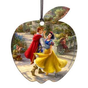 白雪姫 Snow White グッズ Dancing in the Sunlight Thomas Kinkade Hanging Acrylic Print fermart-hobby
