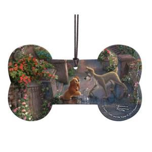 わんわん物語 Lady and the Tramp グッズ Disney Thomas Kinkade Hanging Acrylic Print fermart-hobby