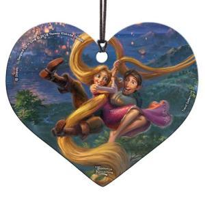 塔の上のラプンツェル Tangled グッズ Up In Love Thomas Kinkade Hanging Acrylic Print|fermart-hobby