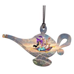 アラジン Aladdin グッズ Disney Thomas Kinkade Hanging Acrylic Print fermart-hobby
