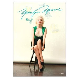 マリリンモンロー Marilyn Monroe グッズ Signature MightyPrint Wall Art Print|fermart-hobby