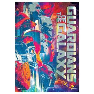 ガーディアンズ オブ ギャラクシー Guardians of the Galaxy グッズ Vol. 2 Tri-tone Title MightyPrint Wall Art Print|fermart-hobby