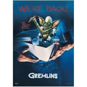 グレムリン Gremlins グッズ We're Back MightyPrint Wall Art Print|fermart-hobby