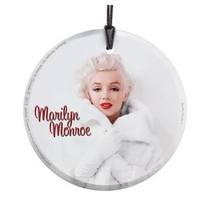 マリリンモンロー スターファイルプリント Starfire Prints Marilyn Monroe White Fur Hanging Glass StarFire Print|fermart-hobby