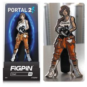ポータル Portal グッズ 2 Chell Enamel Pin|fermart-hobby
