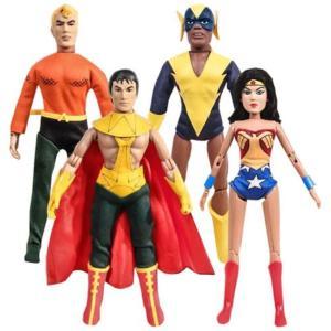 DCコミックス フィギュアーズトイ Figures Toy Company Super Friends 8-Inch Series 2 Retro Action Figure Set|fermart-hobby