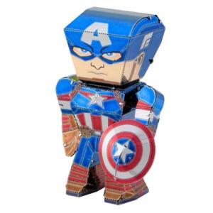 キャプテン アメリカ Captain America プラモデル Metal Earth Legends Model Kit|fermart-hobby