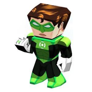 グリーンランタン Green Lantern プラモデル Metal Earth Legends Model Kit|fermart-hobby