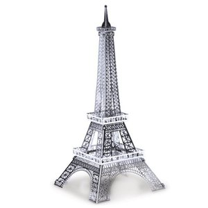 ランドマーク Landmarks プラモデル Eiffel Tower Metal Earth Model Kit|fermart-hobby