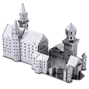 ランドマーク Landmarks プラモデル Neuschwanstein Castle Metal Earth Model Kit|fermart-hobby