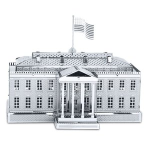 ランドマーク Landmarks プラモデル The White House Metal Earth Model Kit|fermart-hobby