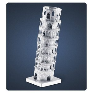 ランドマーク Landmarks プラモデル Leaning Tower of Pisa Metal Earth Model Kit|fermart-hobby