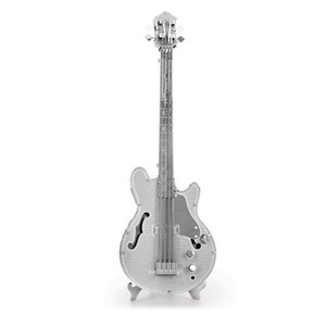 音楽 Music プラモデル Electric Bass Guitar Metal Earth Model Kit|fermart-hobby