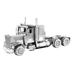 乗り物 Vehicles プラモデル Freightliner Metal Earth Long Nose Truck Model Kit|fermart-hobby