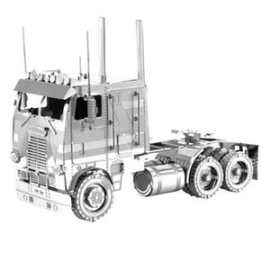 乗り物 Vehicles プラモデル Freightliner Metal Earth Coe Truck Model Kit|fermart-hobby