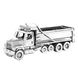 乗り物 Vehicles プラモデル Freightliner Metal Earth Dump Truck Model Kit|fermart-hobby