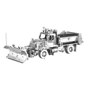 乗り物 Vehicles プラモデル Freightliner Metal Earth Snow Plow Model Kit|fermart-hobby