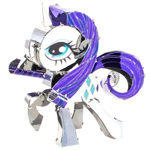 マイリトルポニー My Little Pony プラモデル Metal Earth Rarity Model Kit|fermart-hobby