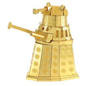 ドクター フー ファシネイションズ Fascinations Doctor Who Gold Dalek Metal Earth Model Kit|fermart-hobby