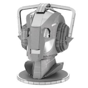 ドクター フー Doctor Who プラモデル Cyberman Head Metal Earth Model Kit|fermart-hobby