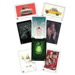 ゴーストバスターズ ファクトリーエンターテインメント Factory Entertainment Ghostbusters Lithographic Print Set 8-Pack|fermart-hobby