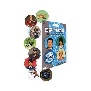アーチャー ファクトリーエンターテインメント Factory Entertainment Archer Wave 1 Button 4-Pack Set|fermart-hobby