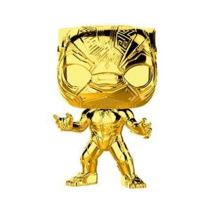 ブラックパンサー Black Panther フィギュア Marvel Studio's 10th Anniversary Chrome Pop! Vinyl Figure #383|fermart-hobby